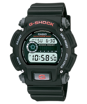 Casio G-Shock Standard Digital DW-9052-1VDR Watch (New with Tags)