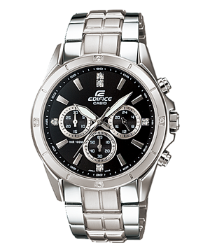 Casio Edifice Multi-Hand Analog EF-544D-1A Watch (New with Tags)