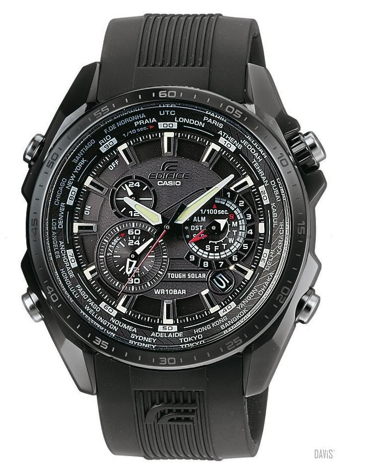 Casio Edifice Black Label EQS-500C-1A1 Watch (New with Tags)