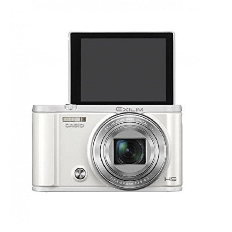 Casio EXILIM EX-ZR3600 White Digital Camera