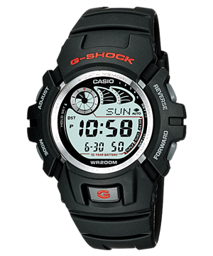Casio G-Shock Standard Digital G-2900F-1V Watch (New with Tags)