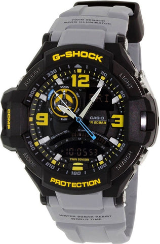 Casio G-Shock G-Aviation GA-1000FC-1ADR Watch (New With Tags)