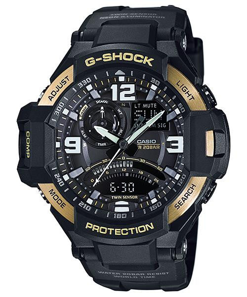 Casio G-Shock Gravity Master GA-1000-9GDR Watch (New with Tags)