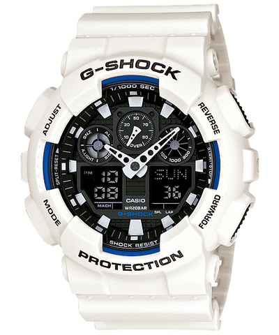 Casio G-Shock Standard Analog-Digital GA-100B-7ADR Watch (New with Tags)
