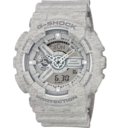Casio Heathered GA-110HT-8A Watch (New with Tags)