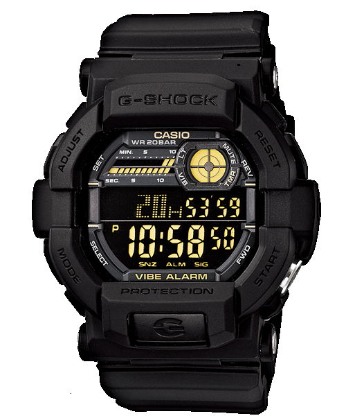 Casio G-Shock Standard Digital GD-350-1B Watch (New with Tags)