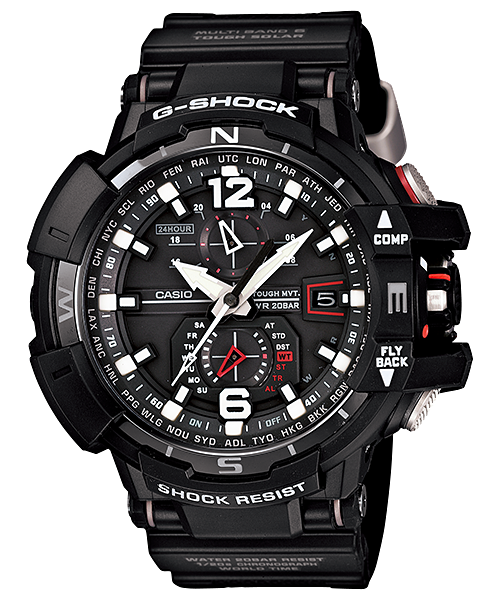 Casio G-Shock Gravity Master GW-A1100-1A Watch (New with Tags)