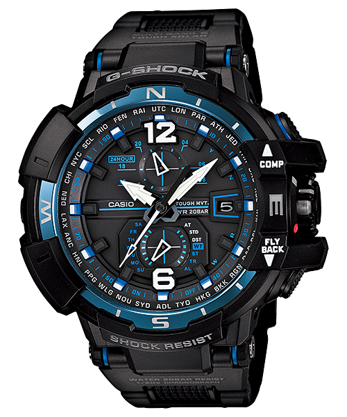 Casio G-Shock Gravity Master GW-A1100FC-1ADR Watch (New with Tags)