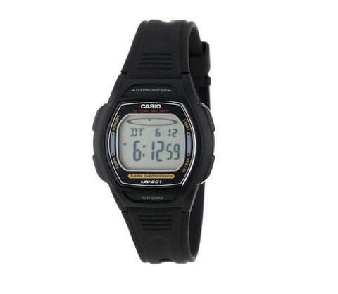 Casio Standard 10-Year Battery Analog- Digital LW-201-1AVDF Watch (New with Tags)