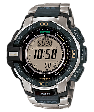 Casio Pro Trek Triple Sensor PRG-270D-7 Watch (New with Tags)