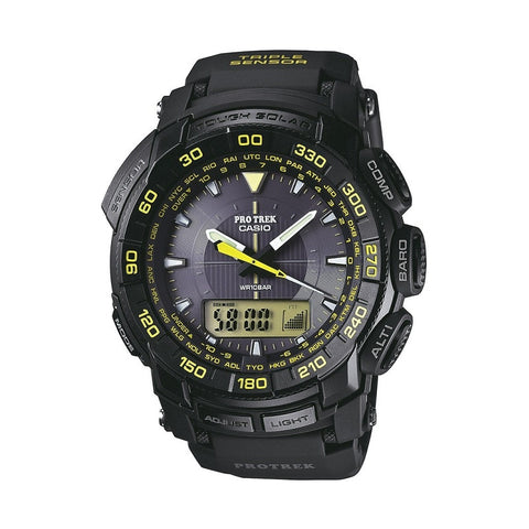 Casio Pro Trek Triple Sensor PRG-550-1A9DR Watch (New with Tags)