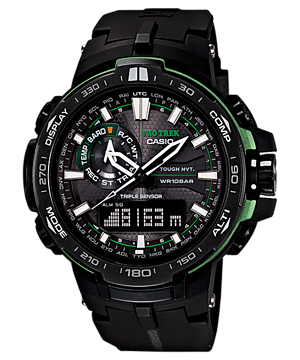 Casio Pro Trek Triple Sensor PRW-6000Y-1ADR Watch (New with Tags)