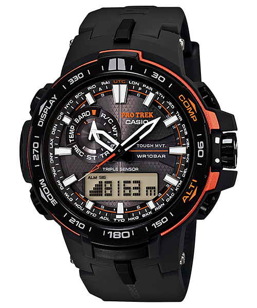 Casio Pro Trek Triple Sensor PRW-6000Y-1DR Watch (New with Tags)