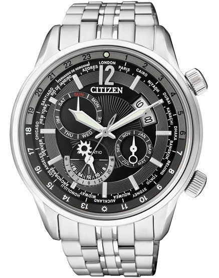 Citizen Automatic World Time NB2010-58E Watch (New with Tags)