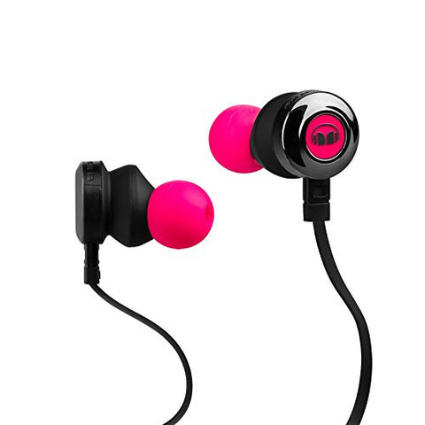 Monster Clarity HD In-Ear Headphone 740558 (Neon Pink)
