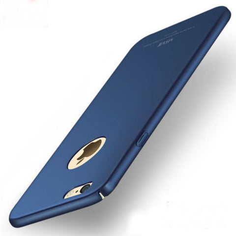 Hard Shell Matte Case 5.5 inch for iPhone 6/6s Plus (Sapphire Blue)