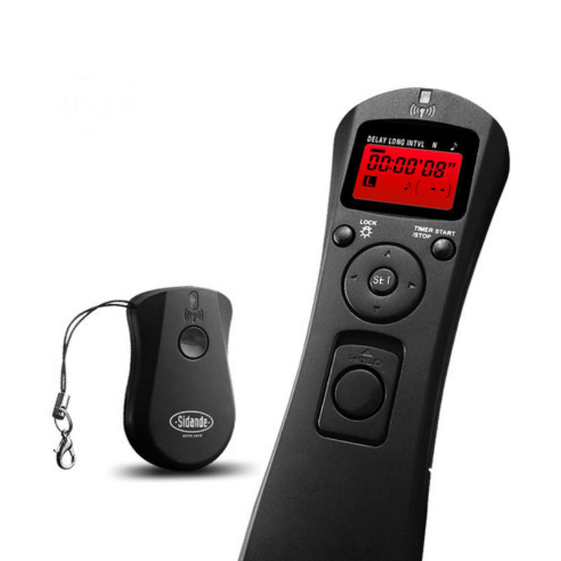 Wireless Remote Shutter Release Timer for Canon 6D 60D 7D 70D 750D
