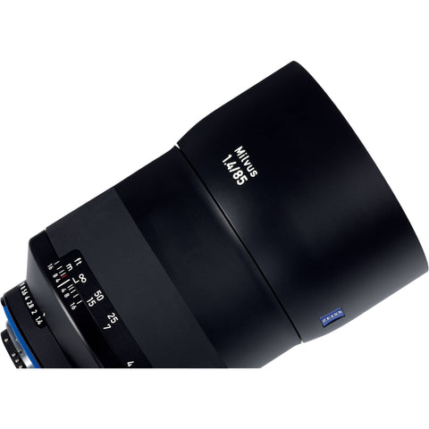 Carl Zeiss Milvus ZF.2 1.4/85mm for Nikon Black Macro Lens