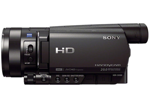 Sony HDR-CX900E Flash Memory HD Black Video Camera and Camcorders