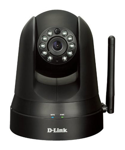 D-Link DCS-5010L Pan and Tilt Day or Night Network Camera Black