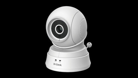 D-Link DCS-850L WiFi Pan and Tilt Day or Night Baby Camera Monitor White
