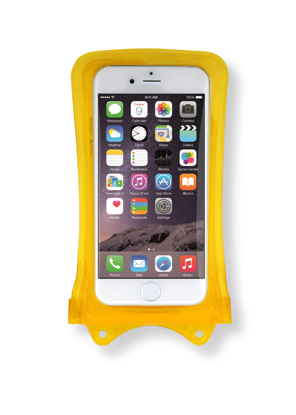 Dicapac WP-i10 iPhone 4 Case (Yellow)