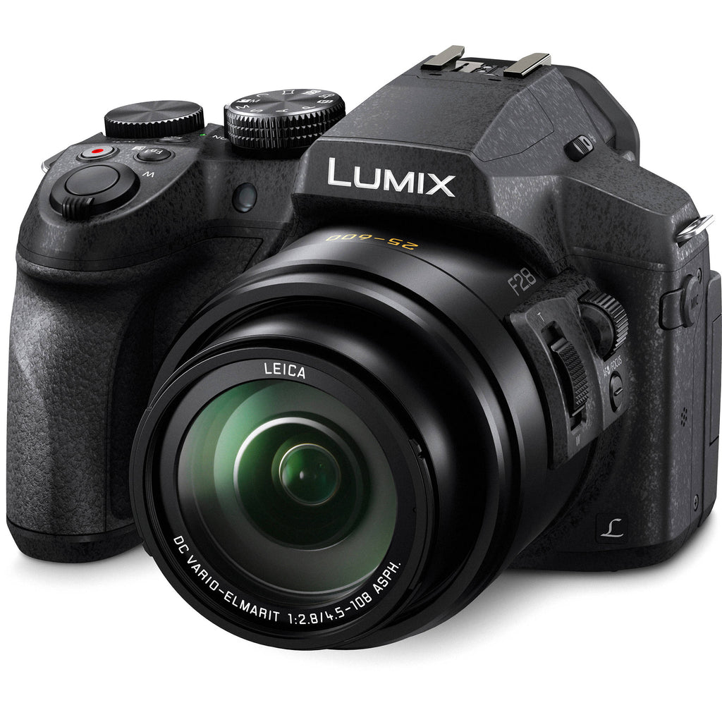 Panasonic Lumix DMC-FZ300 Black Digital Camera