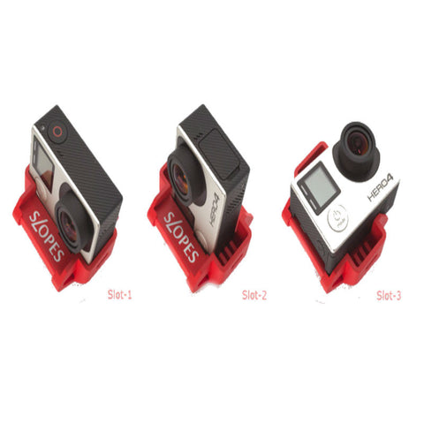 Slopes Polyhedron Stand for GoPro (Red)