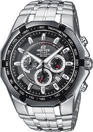 Casio Edifice Chronograph EF-540D-1A Watch (New With Tags)