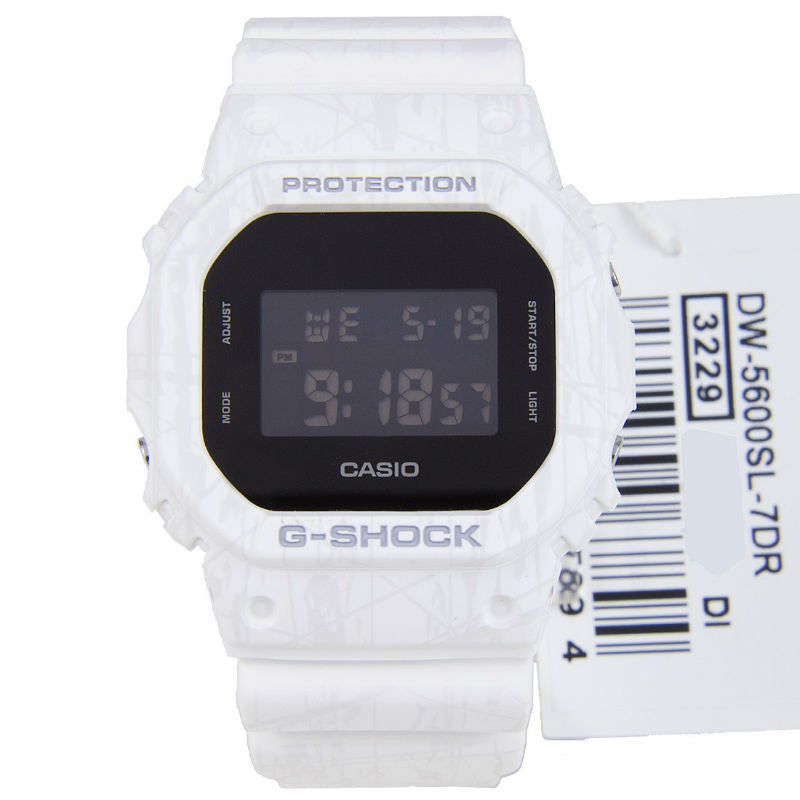 Casio G-Shock Slash Pattern DW-5600SL-7 Watch (New with Tags)