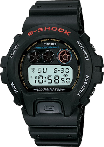 Casio G-Shock Standard Digital DW-6900-1V Watch (New with Tags)
