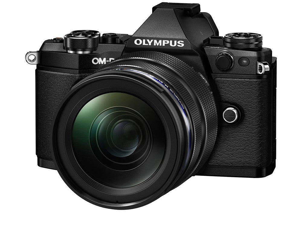 Olympus OM-D E-M5 Mark II with 12-40mm Black Digital SLR Cameras