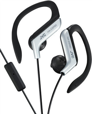 JVC Original HA-EBR80 In-Ear Headphones (Silver)