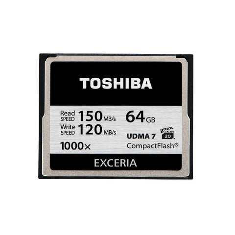 Toshiba Exceria Compact Flash 1000x 64GB  Memory Card