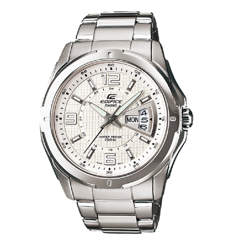 Casio Edifice 3-Hand EF-129D-7A Watch (New With Tags)