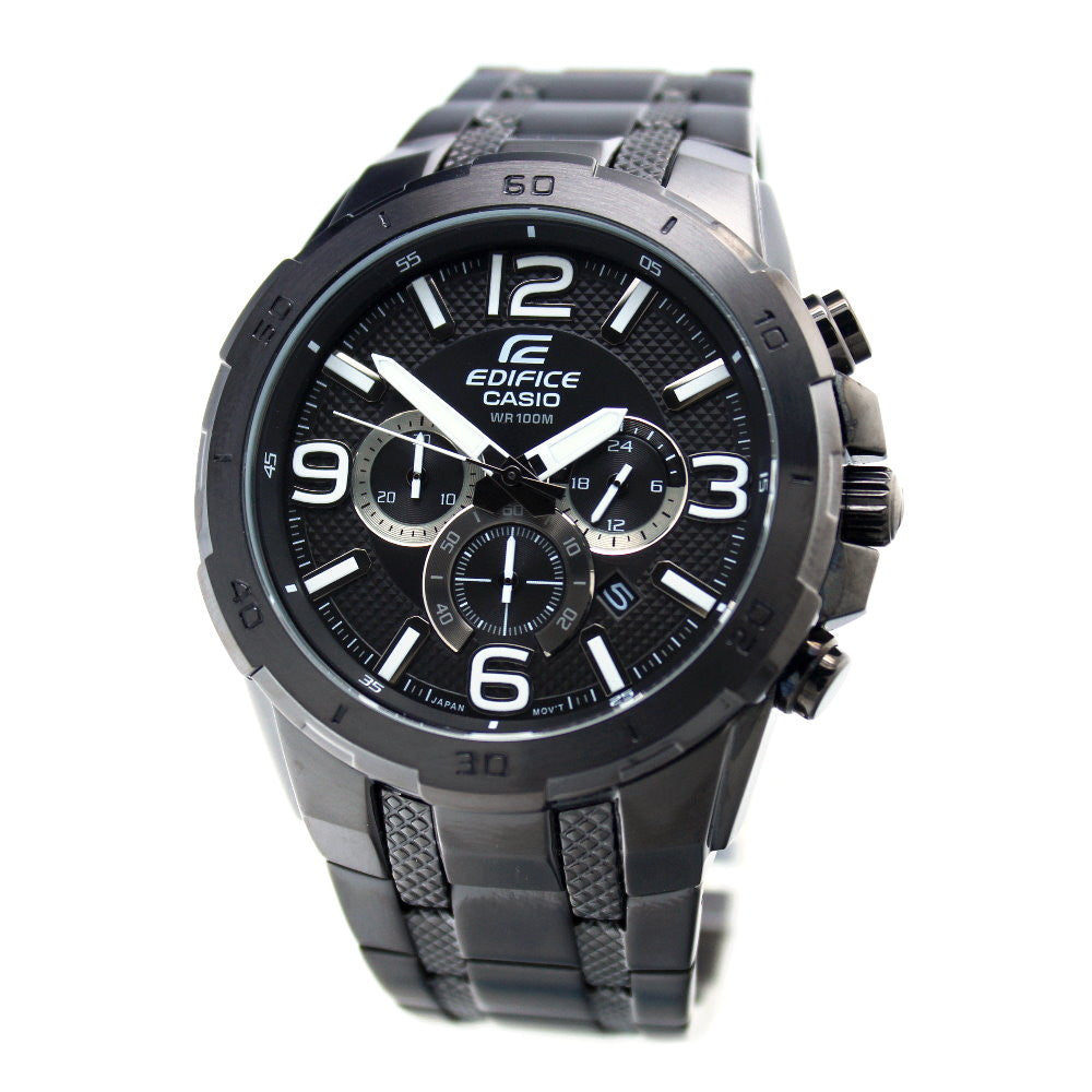 Casio Edifice EFR-538BK-1A Watch (New with Tags)