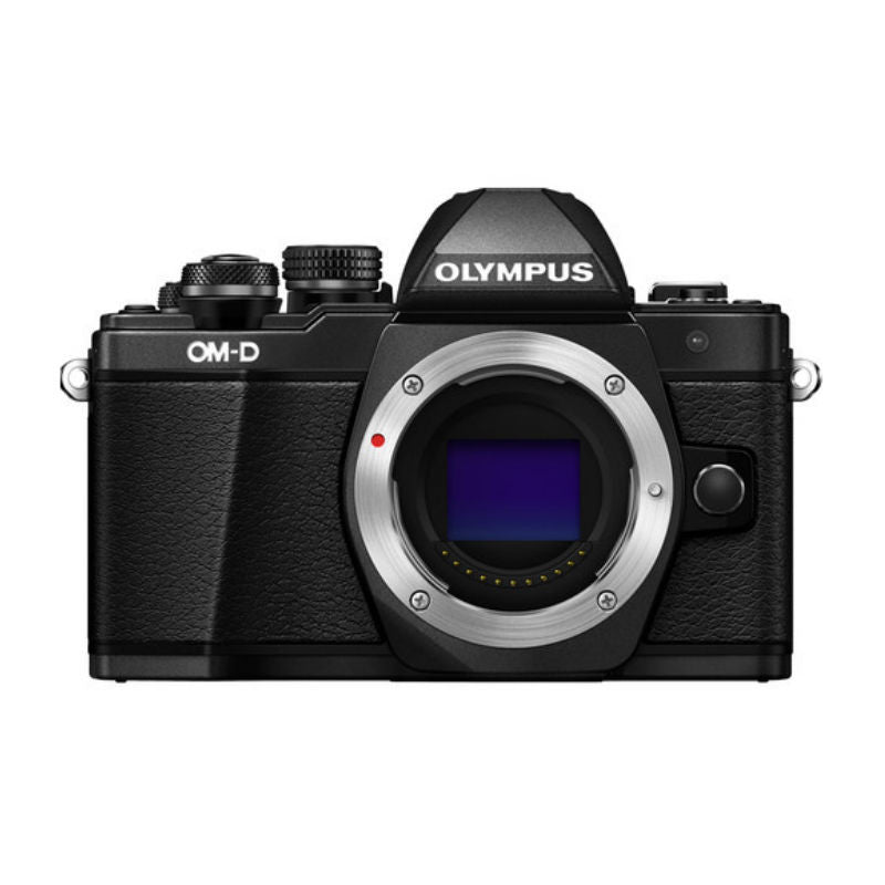 Olympus OM-D E-M10 II Black Digital Camera with 14-42mm EZ Lens Kit