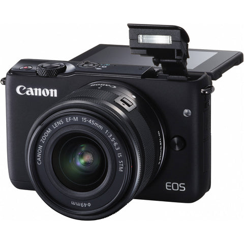 Canon EOS M10 with EF-M 15-45mm Lens Black Digital SLR Camera