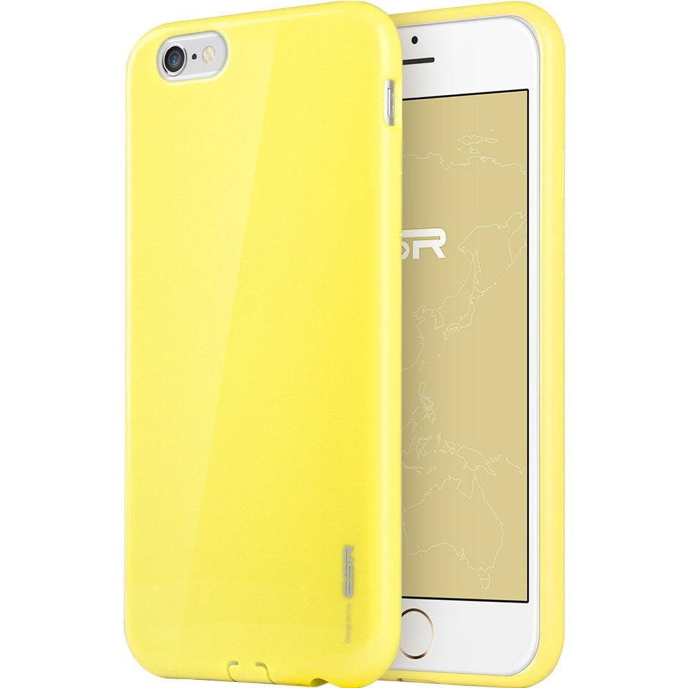 iPhone 6/6s Plus Silicon Color Case (Vibrant Yellow)