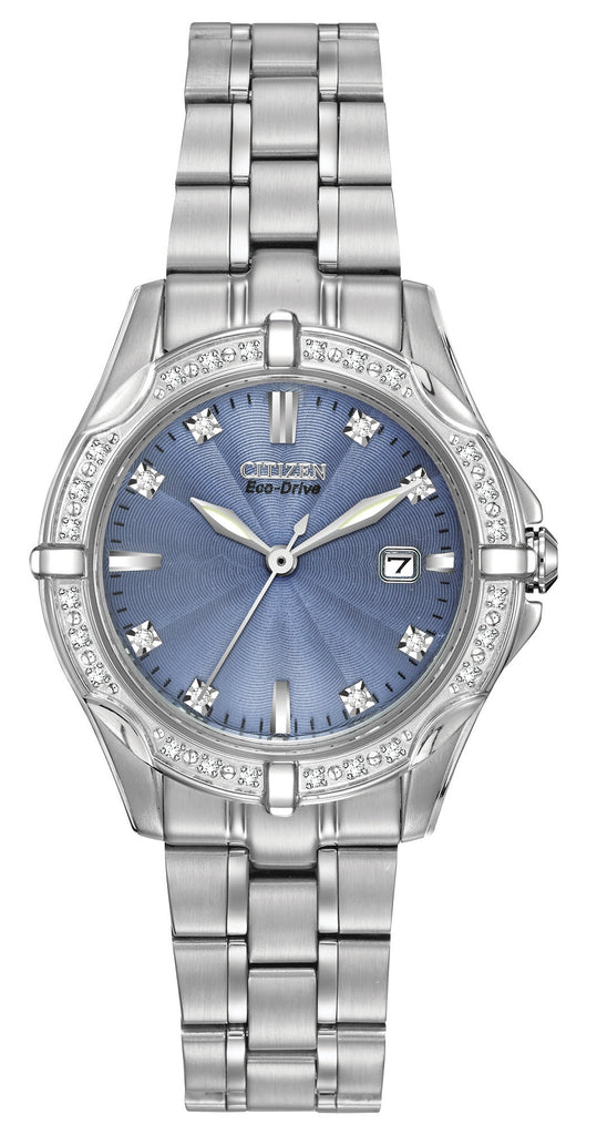 Citizen Eco-Drive Diamond Elegant EW1920-53L Watch (New with Tags)