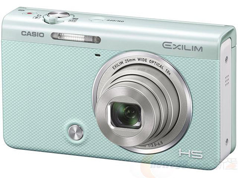 Casio EXILIM EX-ZR55 Green Digital Camera
