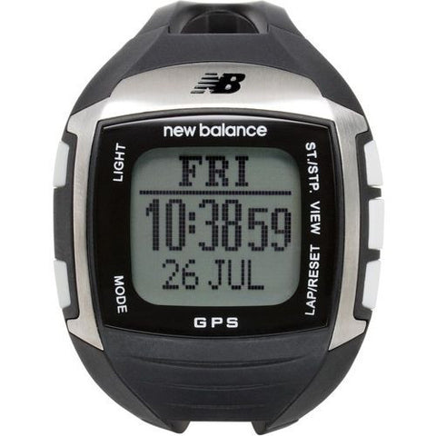 New Balance Ex2 900 NB GPS Black/Silver Running Watch