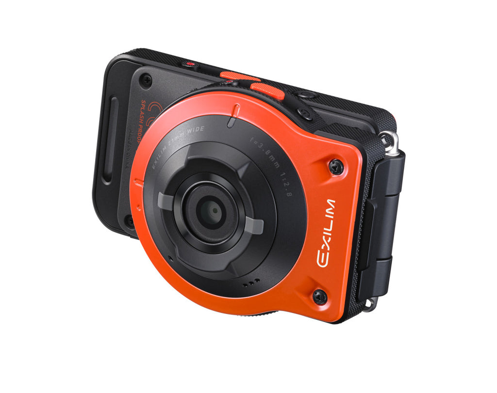 Casio EXILIM EX-FR10 Orange Digital Cameras