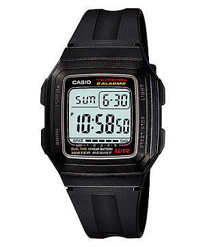 Casio Standard 10-Year Battery F-201WA-1ADF Watch (New with Tags)