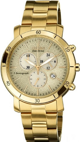 Citizen Eco-Drive Chronograph FB1342-56P Watch (New with Tags)