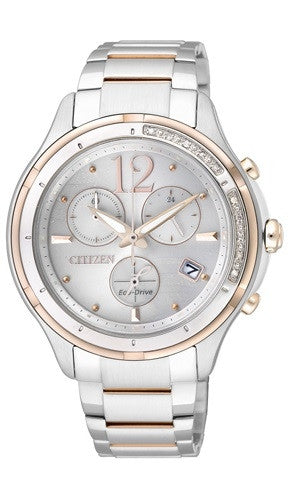 Citizen Eco-Drive Sapphire Chronograph FB1375-57A Watch (New with Tags)