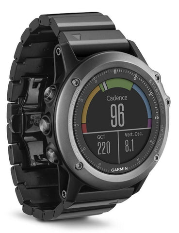 Garmin Fenix 3 Sapphire with Metal Band GPS Sports Watch (Gray) 010-01338-21