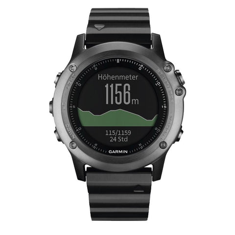 Garmin Fenix 3 Sapphire GPS Sports Watch 010-01338-21 (Gray)