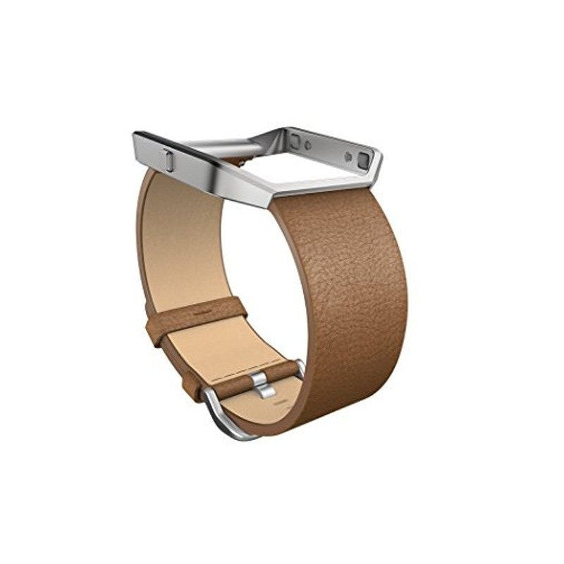 Fitbit Blaze FB159LBCML Leather Strap Only Large (Camel)
