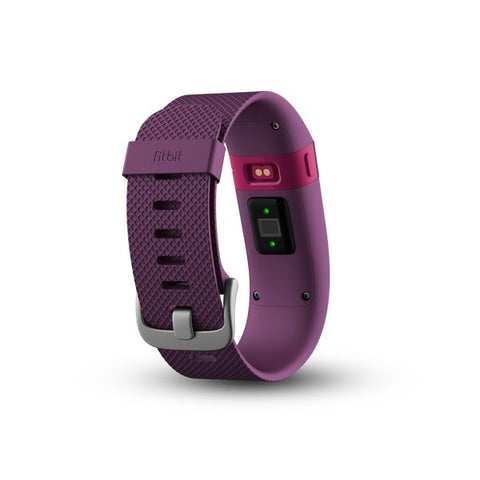 Fitbit Charge HR FB405PMS Wireless Heart Rate and Acitvity Wristband Small (Plum)